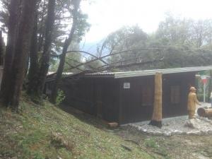 Maltempo 10\08\2017 presso sede Alpini Musi