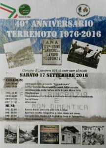 40° Terremoto Friuli 1976 Cantiere 11 Vedronza