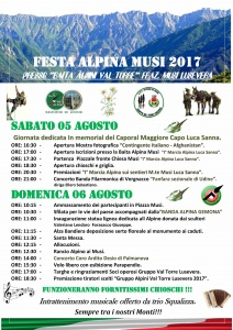 43° Festa Alpina Musi 2017