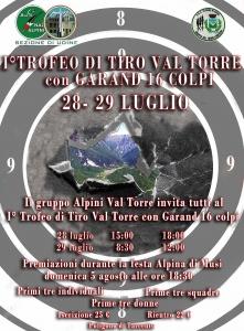 I° Trofeo di Tiro Val Torre  con fucile Garand M1 calibro 7,62